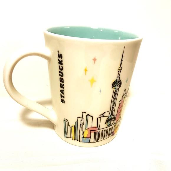 """2015 Starbucks """"Seattle Skyline"""" Mug (T)"""